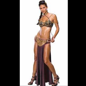 Slave prisoner princes Lea costume Halloween OS